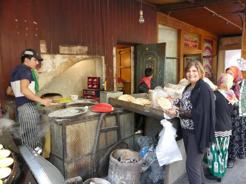 Fresh Naan Uyghur Silk Road
