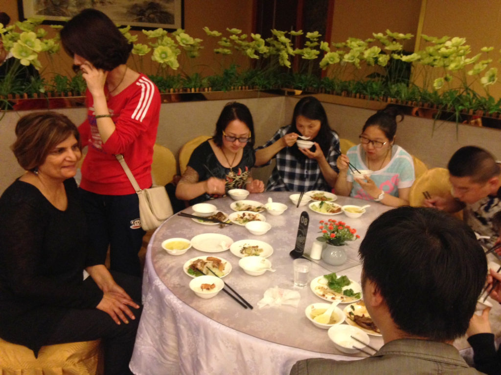 silk road Chinese buffet Dilshad birthday Xiang Teng Yuan Hotel
