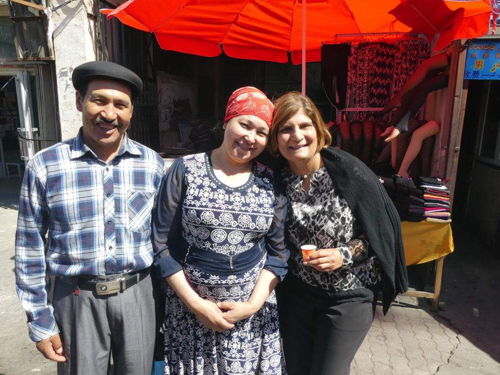 Uyghurs friendly old town