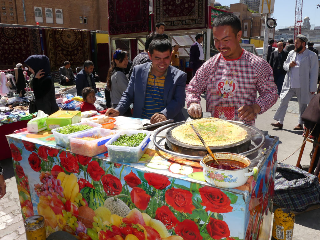 Silk Road Local Crepe with vegetables