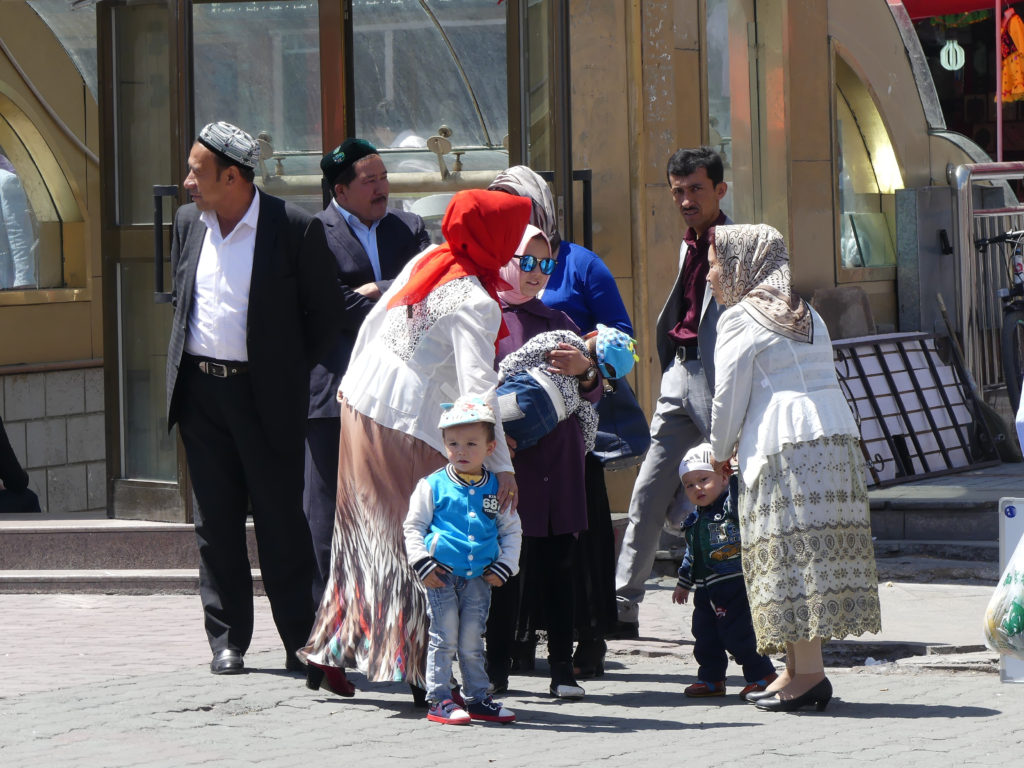 Out For Sunday Stroll Uyghur Silk Road