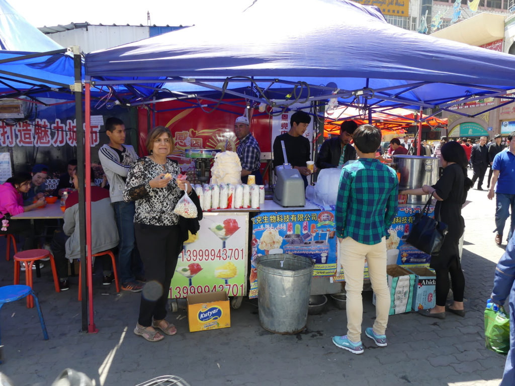 Local Handmade Ice cream Uyghur Silk Road