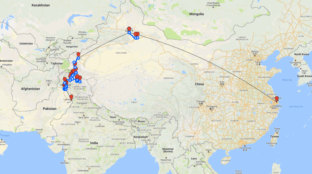 map-of-silk-road-trip-china-pakistan