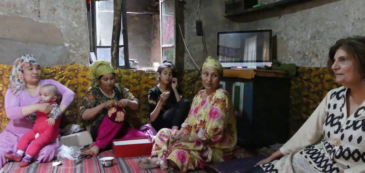 Uyghur Family, Traditional House, Hosting, Entertaining, Hospitality
