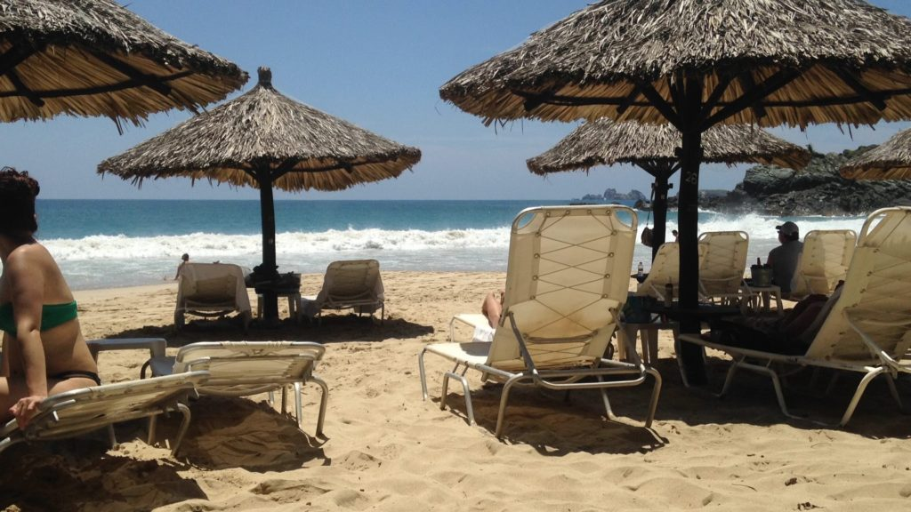 Las Gatos Beach, Zihuatanejo, Playa Las Gatos