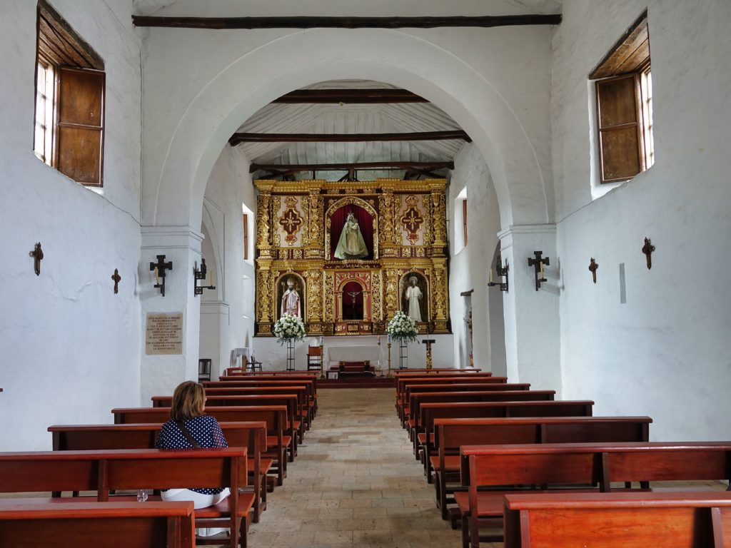 Convento de La Mercedes church, built in 1541