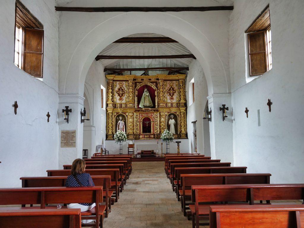 Convento de La Mercedes church, built in 1541