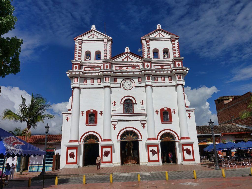 Beautiful church outside
