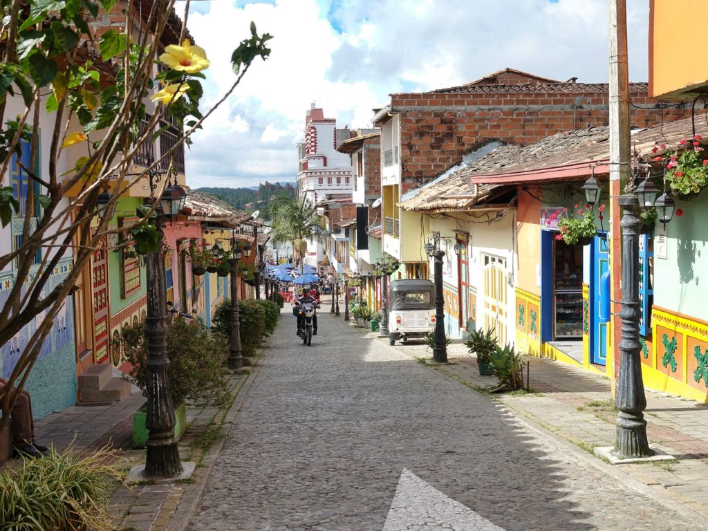 Guatape Town scenes; this one and below