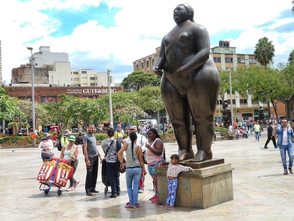 More of Botero's sculptures